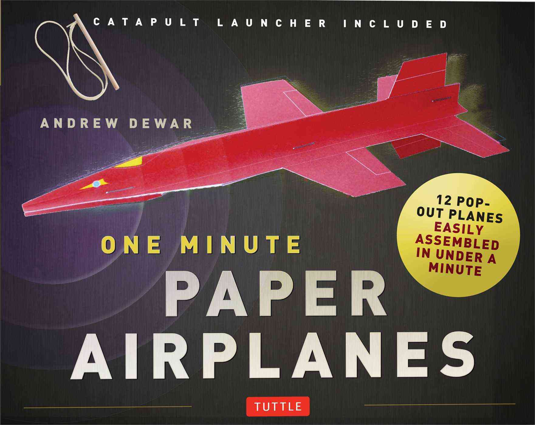 One Minute Paper Airplanes Kit By Dewar, Andrew